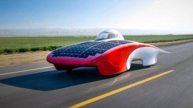 Stanford Solar Car Project Team Compete in Bridgestone World Solar Challenge
