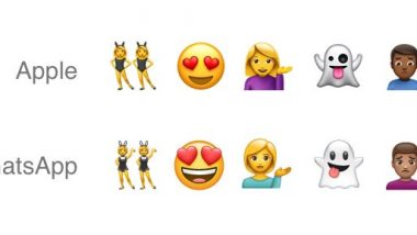 WhatsApp Makes Its Own Unique Emojis – That Look Similar to Apple's