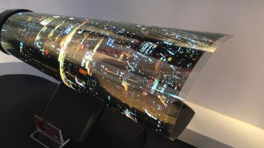 LG's Rollup TV Could be out as Soon as Next Year