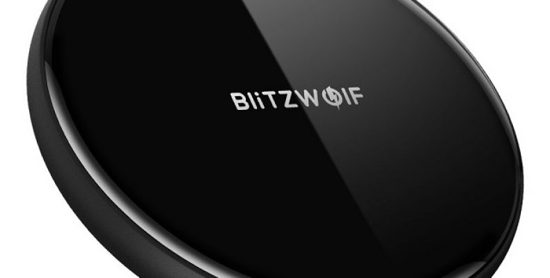 BlitzWolf  Wireless Charger and Charging Pad 5w for All Qi-Enable Devices