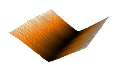 Graphene Crinkles: Research Shows Graphene Forms Electrically Charged Crinkles