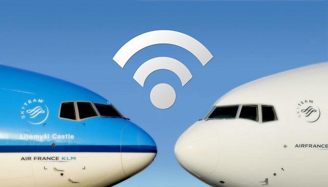 Wi-Fi onboard flights