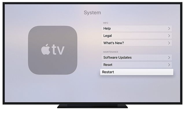 Enable Home Screen Sync on Apple TV