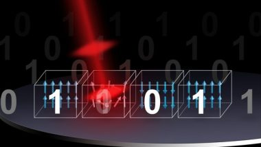 Next Generation Photonic Memory Devices are Light Written and Ultra Fast