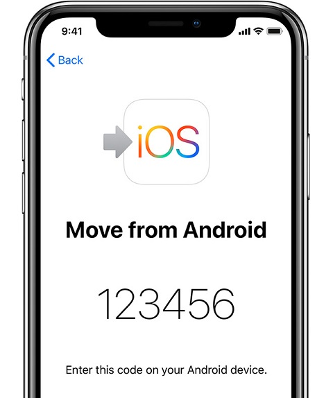 transfering Data from Android to iPhone