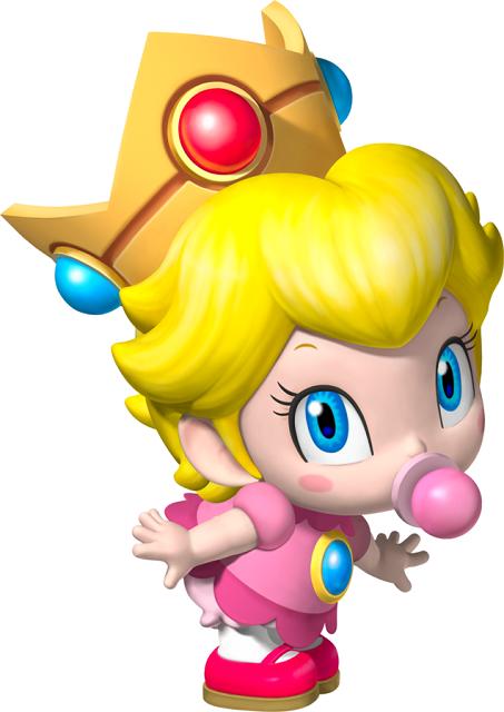 Mario Kart Tour Characters Baby Peach