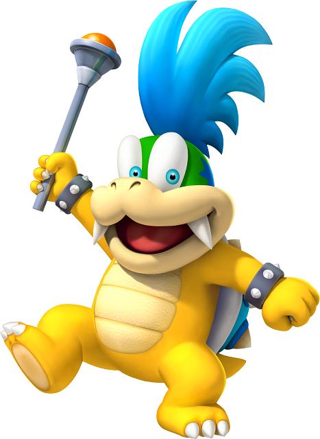 Mario Kart Tour Characters Larry Koopa