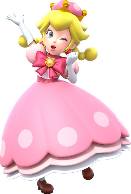 Mario Kart Tour Characters Peachette