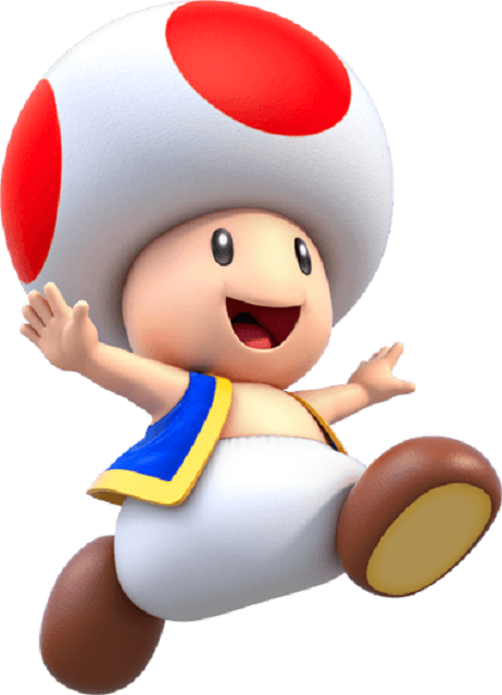 Mario Kart Tour Characters Toad