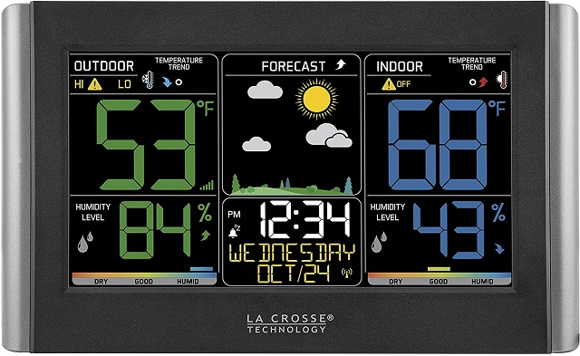 La Crosse Technology C85845 Wireless Color Weather Station