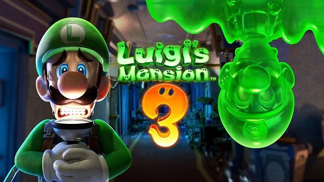 Best Switch Games Luigi's Mansion 3