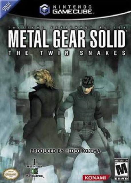 Best GameCube Games Metal Gear Solid The Twin Snakes