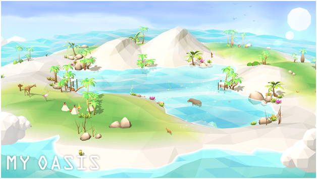 Best Idle Games Android My Oasis