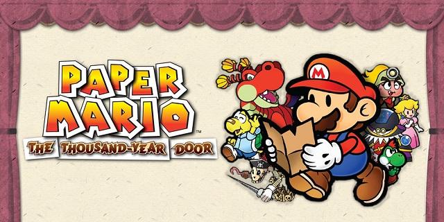 Best GameCube Games Paper Mario The Thousand Year Door