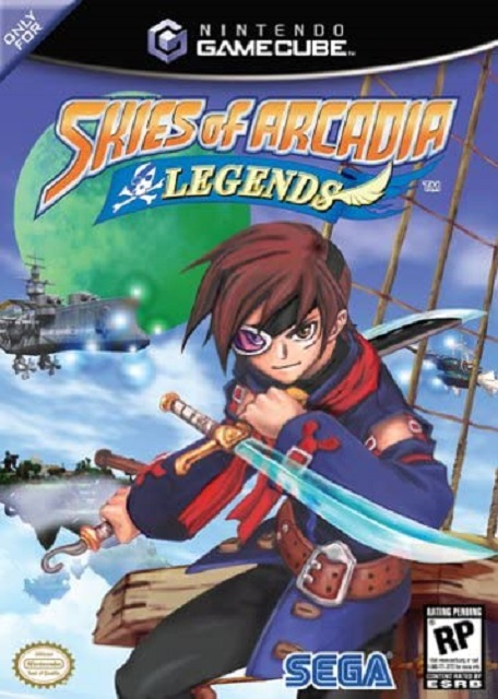 Best GameCube Games Skies of Arcadia Legends