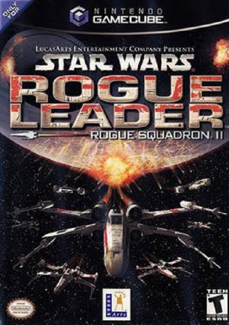 Best GameCube Games Star Wars Rogue Leader Rogue Squadron II