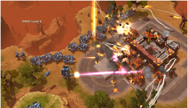 Best MOBA Games- AirMech Strike