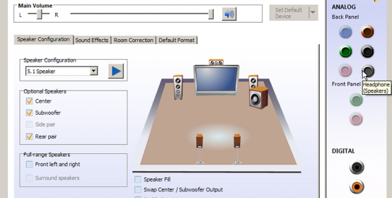 Realtek HD Audio Manager Missing- Fixing Guide