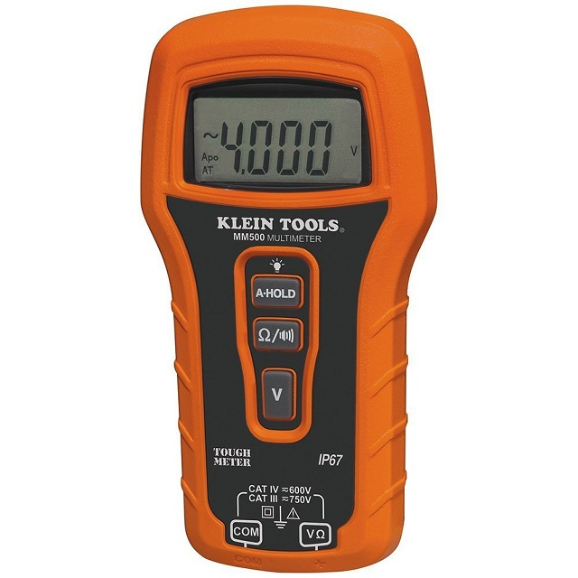 Klein Tools MM500- Best Multimeter