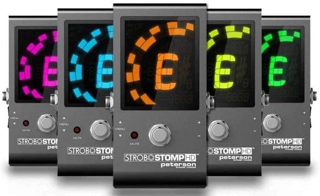 Best Guitar Tuner StroboStomp HD tuner by Peterson