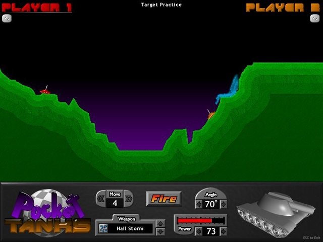 Pocket Tanks Best Browser Games